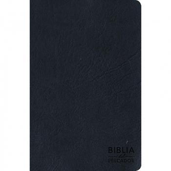 Biblia Del Pescado RVR60-Letra Grande-Azul (Simil Piel )