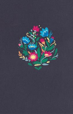 Biblia RVR60 Azul Bordado Sobre Tela (Tapa Dura Tela Bordada) [Bíblia]