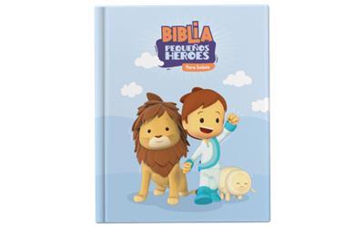 Biblia Pequeños Heroes Para Bebes (Tapa dura)