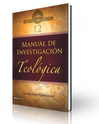 Manual de investigación teológica (Rústica)