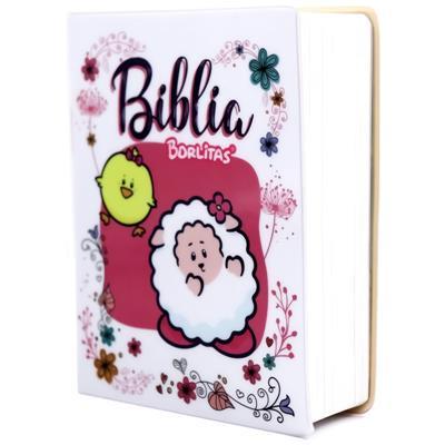 Biblia RVR60 Borlitas Vinilo (Flexible Vinilo Estampado) [Bíblia]