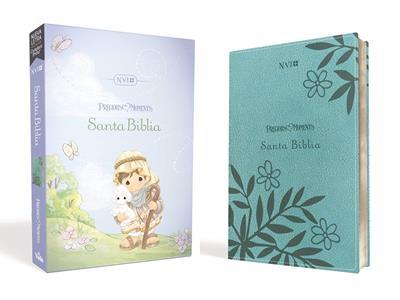 Santa Biblia NVI Aqua Precious Moments (Flexible Imitacion Piel Verde Agua) [Bíblia]