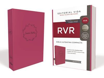 Biblia RVRevisada Ultrafina Compacta Leathersoft (Flexible Imitación Piel Rosa)