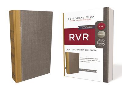 Biblia RVRevisada Ultrafina Compacta Tapa Dura (Tapa Dura Tela) [Bíblia]