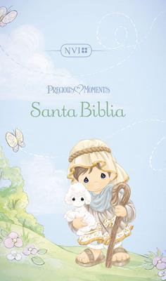 Biblia Precious Moments NVI Tapa Dura (Tapa Dura Acolchada Estampada) [Biblia]