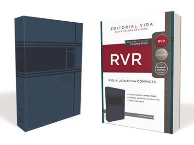 Biblia RVRevisada Ultrafina Compacta Soft-Touch (Flexible Imitacion Piel Azul) [Bíblia]