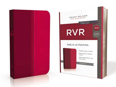 Biblia RVRevisada Ultrafina Rosa (Flexible Imitacion Piel Rosa) [Bíblia]