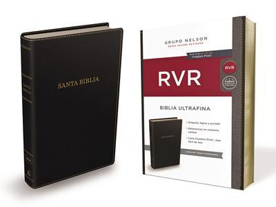 Biblia RVRevisada Ultrafina Negra (Flexible Imitacion Piel Negro) [Bíblia]