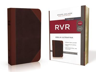 Biblia RVRevisada Ultrafina Cafe Clásica (Flexible Imitación Piel Café) [Bíblia]