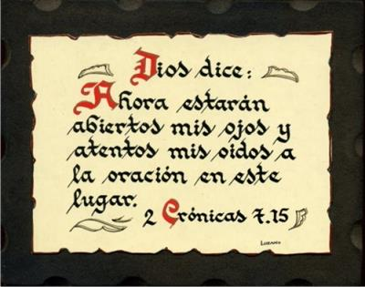 Pergamino bíblico pequeño
