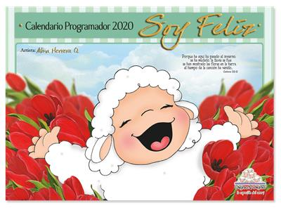 Calendario Ovejitas Soy Feliz 2020 (Rústica) [Calendario]