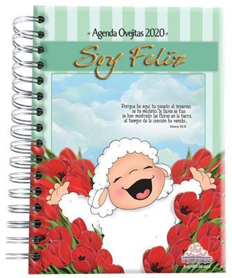 Agenda Ovejitas Soy Feliz 2020 (Tapa dura) [Agenda]