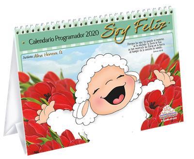 Calendario Ovejitas Soy Feliz 2020 (Tapa dura) [Calendario]