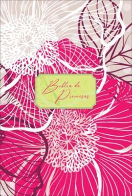 Biblia De Promesas-RVR60-Letra Grande-Floral (Imitacion Piel)