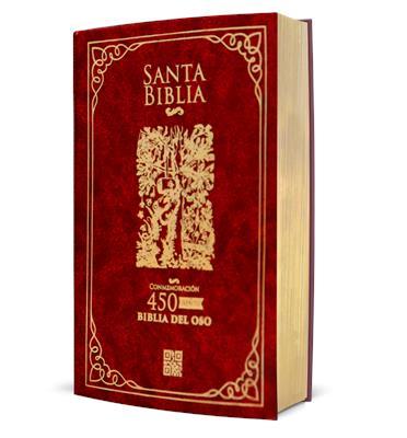 Biblia Del Oso Con Ayudas Digitales-Vino Tinto-Con Estuche