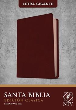 Biblia NTV Edición Clásica Sentipiel Vino Tinto (Flexible Imitación Piel Vino Tinto) [Bíblia]