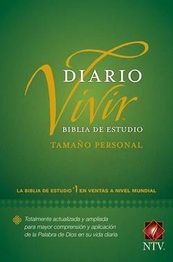 Biblia De Estudio Diario Vivir NTV Tamaño Personal Tapa Dura Verde (Tapa Dura Color Verde) [Bíblia]