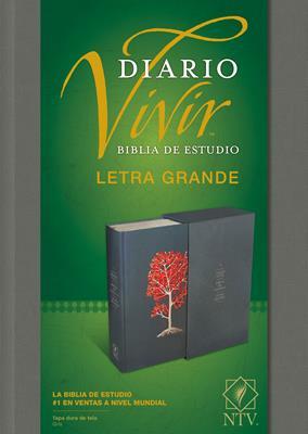 Biblia De Estudio Diario Vivir Estuche Gris (Tapa Dura) [Biblia de Estudio]