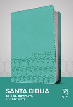 Biblia NTV Compacta Menta (Flexible Imitacion Piel Color Menta) [Bíblia]