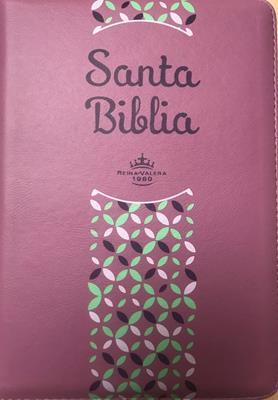 Biblia-RVR-Rosado-Canto Lila