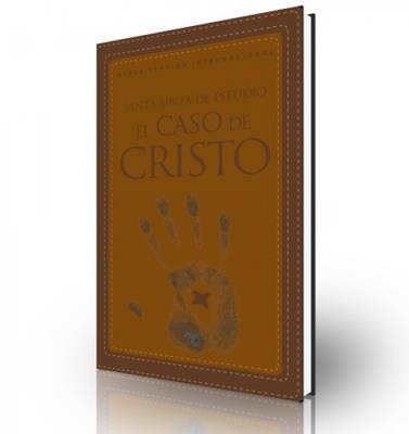 Biblia de estudio el caso de Cristo (Piel Italiana Dos Tonos Café/Café)