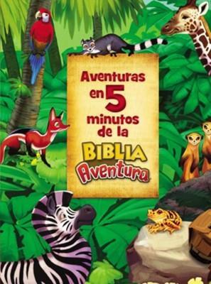 Aventuras En 5 Minutos De La Biblia Aventura (Tapa Dura )