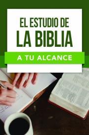 El Estudio De La Biblia (Rustica)