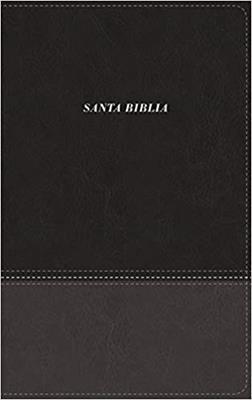 Biblia De Las Americas Piel Italiana Negro (Imitacion Piel )