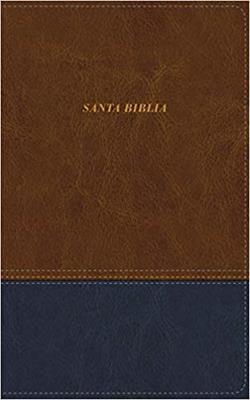 Biblia De Las Americas Piel Italiana Cafe (Imitacion Piel )