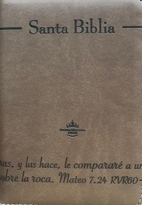 Biblia-RVR-45CZTILG PJR-Cafe-CantoDorado (Imitacion Piel )