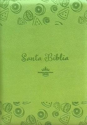 Biblia-RVR-45CZTILG-Verde-Canto Plateado (Imitacion Piel )