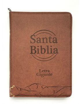 Biblia RVR 85CZTILG Café (Con cierre índice) [Biblia]