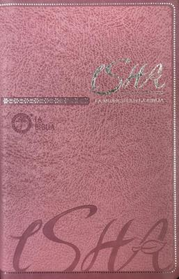 BibliaTLA-65P-ISHA Rosada (Imitacion Piel )