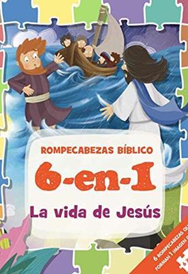 Rompecabezas Bíblico 6 en 1/La Vida De Jesús (Tapa Dura ) [Rompecabezas]