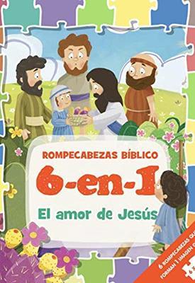 Rompecabezas Bíblico 6 en 1/El Amor De Jesús (Tapa Dura ) [Rompecabezas]