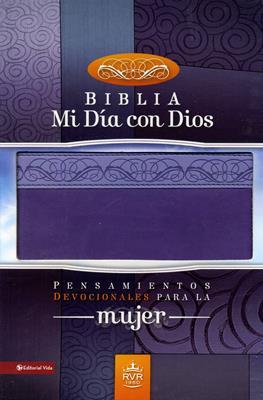 Biblia mi día con Dios dos tonos (Piel) [Biblia]