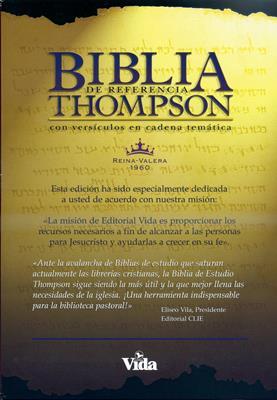 Biblia de referencia Thompson, Rojo Oscuro (Tapa Dura) [Biblia]