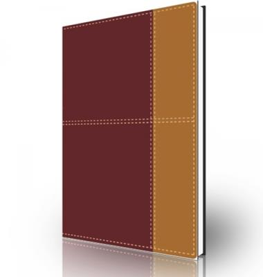 Biblia de referencia Thompson NVI, dos tonos italiano, Rojo oscuro/café (Piel Italiana a Dos Tonos) [Biblia]