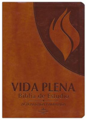 Biblia Vida Plena de Estudio (Imitación Piel ) [Bíblia]