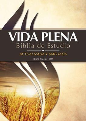 Biblia Vida Plena de Estudio (Tapa Dura) [Biblia]