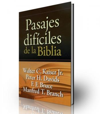 Pasajes difíciles de la biblia (Tapa Dura)