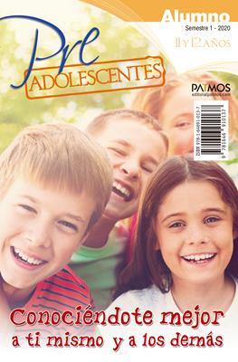 Escuela Dominical/Pre-adolescentes Alumno/11-12 Años/01-2020