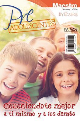 Escuela Dominical/Pre-adolescentes Maestro/11-12 Años/01-2020
