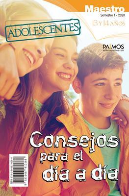 Escuela Dominical/Adolescentes Maestro/13-14 Años/01-2020 (Rústica)