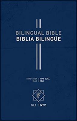 Biblia Bilingue NLT-NTV/Azul (Tapa Dura Imitación Piel Azul) [Bíblia]