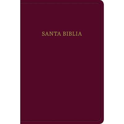 Biblia RVR60/Letra Grande/Manual/Borgoña/Imitacion Piel (Flexible Imitación Piel Rojo Borgoña) [Bíblia]