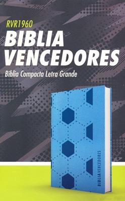 Biblia RVR60  Vencedores/Azul/Semil Piel (Flexible Simil Piel Azul) [Bíblia]