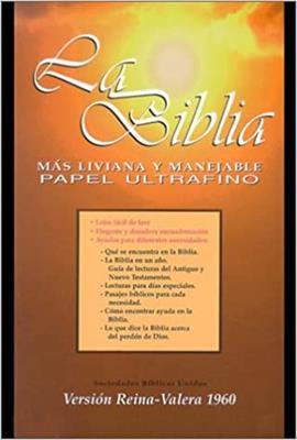 Biblia/RVR065CXZTI/Semifina Negro canto Dorado (imitacion piel) [Biblia]