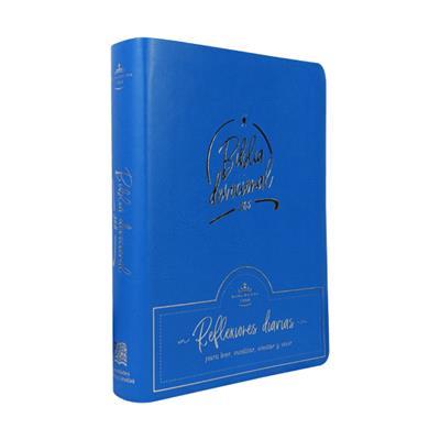 Biblia/RVR066C/Devocional 365 Azul (Flexible Imitación Piel Azul) [Bíblia]