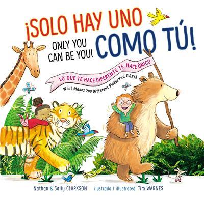 Solo Hay Uno Como Tú (Bilingue) (Tapa Dura ) [Libro de Niños]